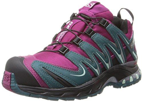 Black W Salomon WP Women's Mystic Cobalt Purple Blue Shoe Running CS XA Trail Pro 3D Y6Yrq