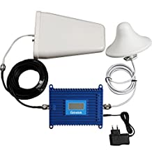 Lintratek 3G 4G GSM LTE 1900 Band 2 Cell Phone Signal Booster Amplifier + Antenna+ 50ft Cable