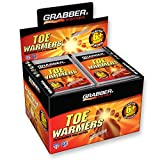 Grabber Warmers Grabber 6+ Hours Toe Warmers, 40-Count