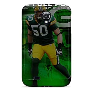 Great Hard Phone Case For Samsung Galaxy S4 With Provide Private Custom Fashion Green Bay Packers Skin LauraAdamicska