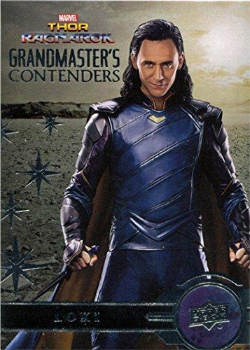 Thor Ragnarok Movie GC5 Grandmaster's Contenders Chase Card Loki