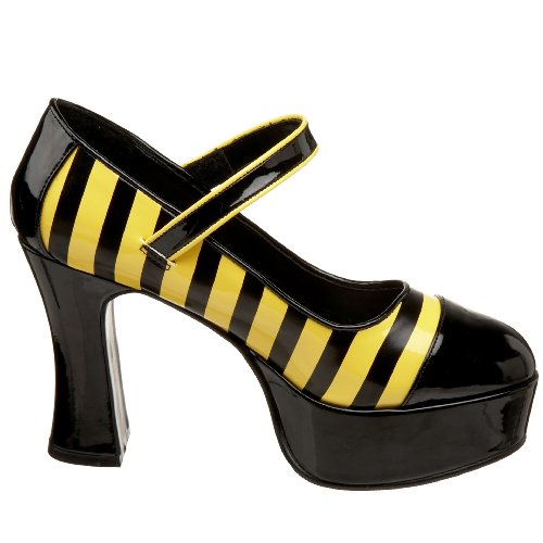 Funtasma BUZZ-66 Blk-Yellow Pat UK 5 (EU 38 )