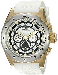 Invicta Mens 20308SYB Speedway Analog Display Quartz White Watch