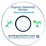 AceOrganicChem Organic Chemistry Help - Organic Chemistry Study DVD with Complete Course Review Videos - Organic Chemistry Study Aids Included: Reactions Course, Books & Flashcards for College & MCAT