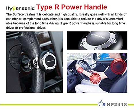 Electric Vehicle Parts Special Section Black Heavy Duty Suicide Knob Auto Car Steering Wheel Spinner Handle Knob Fixing Prices According To Quality Of Products