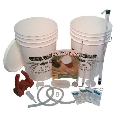 Home Brew Stuff HBK-3 Beginner Brewer's Starter Beer Equipment Kit