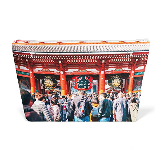 Westlake Art - Temple People - Pen Pencil Marker Accessory Case - Picture Photography Office School Pouch Holder Storage Organizer - 13x9 inch (A1BAE)