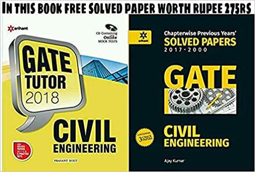 Buy Civil Engineering GATE With Free (Civil Engineering Solved ...