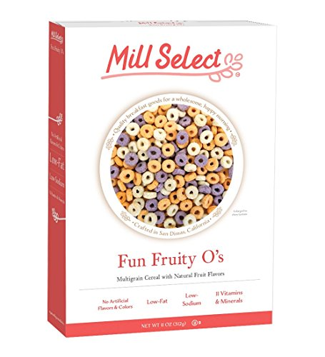 Mill Select, Fun Fruity O's, 11 oz. (3-Pack)