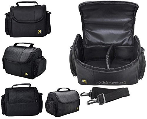(Compact Camera Case/Bag For Pentax K3, K-3 II, K-S2, K50, K-30, K-7, K-5, K-r, K-S1, K-3, K-500, K-S2, K-5 II, K2000 K1000D, K200D, K110D, K100D K-1000, QS-1, Q7, XG-1)