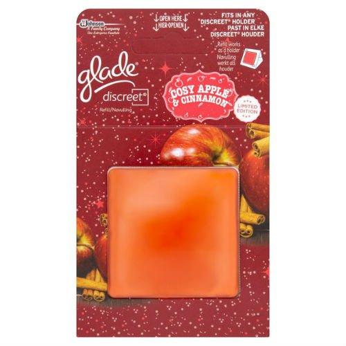 Glade Discreet Refill Cosy Apple & Cinnamon case of 4