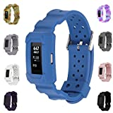 Bands for Fitbit Charge 2 - X4-TECH Classic Fitness Replacement Accessories Wrist Band for 2016 Fitbit Charge 2 HR (New-Navy)