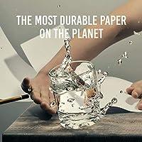 10 MIL Rain Weatherproof 8.5x11-inch TerraSlate Copy Paper Waterproof Laser Printer 25 Sheets