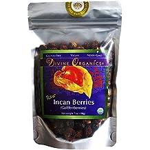 Divine Organics Raw Golden Berries / Incan Berries - 7 oz Golden Berry