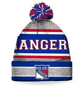 NHL Men's New York Rangers 2016 Pom Pom Toque ( One-Size )