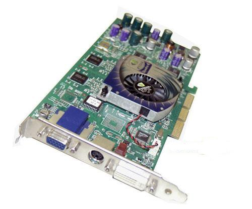 NVIDIA Quadro 4 700XGL 64MB AGP Video Card DVI VGA TW-06F389 ()