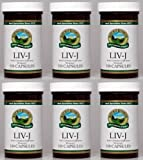 Naturessunshine LIV J Supports Digestive System Herbal Combination Supplement 100 Capsules (Pack of 6)