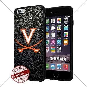 "NCAA Virginia Cavaliers Cool iPhone 6 Plus (6+ , 5.5"") Smartphone Case Cover Collector iphone TPU Rubber Case Black"