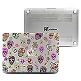 Macbook Pro Retina 13 Inch Case, Plastic Hard Shell Snap On Case Cover for Macbook 13'' Pro Retina Display (A1502 & A1425) (Sugar Skull)