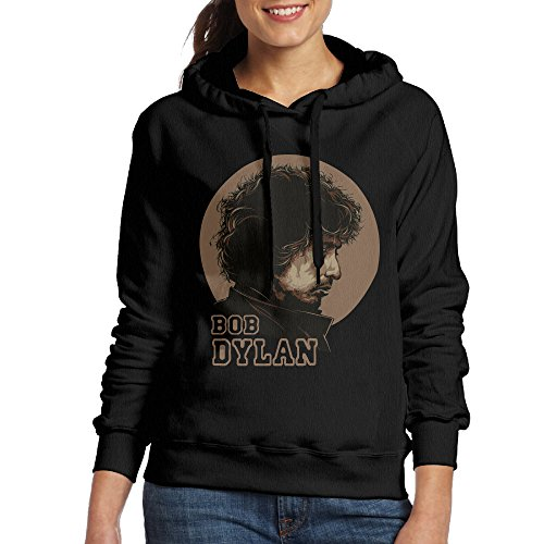 International School Of Fashion And Costume Design (Curcy Dylan Songwriter Singer Artist Writer Hoodie Sweatshirt For WomenSportsSize M Black)