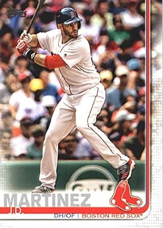 Amazoncom 2019 Topps 77 Jd Martinez Boston Red Sox