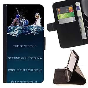 Dragon Case- Caja de la carpeta del caso en folio de cuero del tir¨®n de la cubierta protectora Shell FOR HTC Desire D816 816 d816t- UnderWater Polo