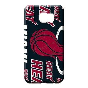 samsung galaxy s6 Classic shell Premium stylish phone carrying cover skin miami heat nba basketball