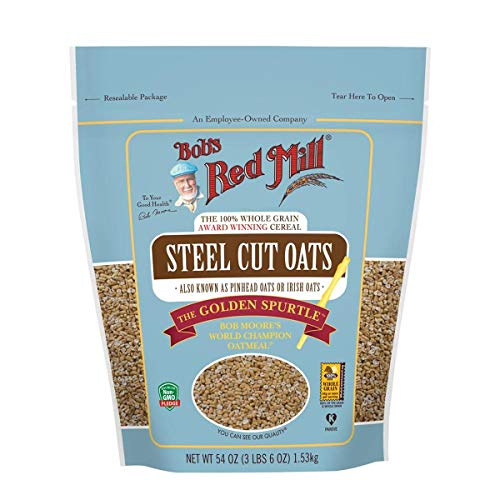 Bob's Red Mill Steel Cut Oats, 54 Oz (4 Pack)