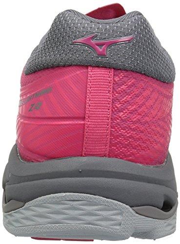 Lightning Wave Mizuno Women's Grey Azalea Z4 Volleyball Charcoal MIZD9 Pink Shoe 6qx1txTZ