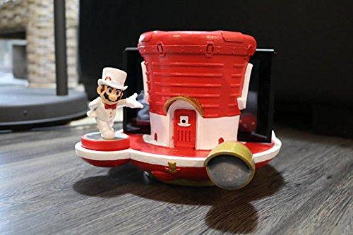 Nintendo Switch Mario Odyssey Ship Dock w/ Amiibo Stand 3D Print