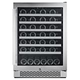 Avallon AWC241SZRH 54 Bottle 24'' Built-In Wine Cooler - Right Hinge