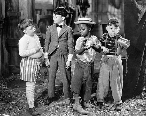 The Little Rascals 11x14 Promotional Photograph Our Gang line-up