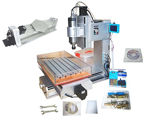 HY 3040 CNC Router 5 Axis Engraver Engraving Machine Desktop 1.5KW Spindle
