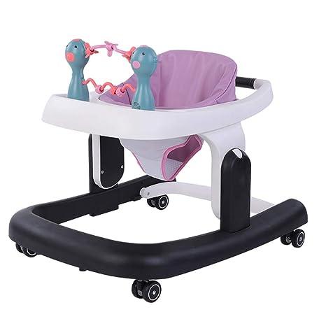 YUMEIGE Andadores Andador para Bebés ajuste de seis velocidades ...