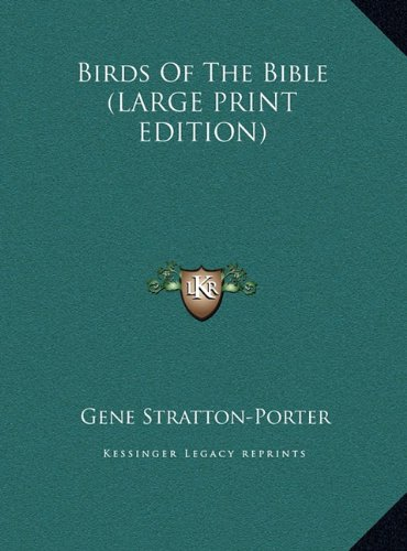 Birds Of The Bible (LARGE PRINT EDITION) ebook