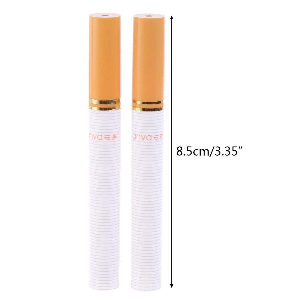 Eclife 2PCS moda portatile a forma di sigaretta Secret Stash Pill box stuzzicadenti contenitore
