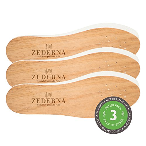 ZEDERNA Cedar Wood Shoe Insoles product image