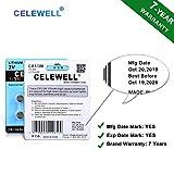 【7-Year Warranty】 CELEWELL 6 Pack DL1/3N 3V