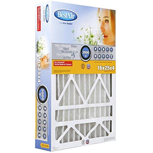 BestAir HW1625-13R Furnace Filter, 16