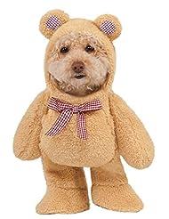 Walking Teddy Bear Pet Suit, Medium