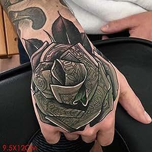 5Pcs-Etiqueta engomada del Tatuaje Impermeable Halloween Horror ...