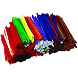 Creativity Street Jumbo Chenille Stems Classroom Pack, 1,000-Count, Assorted Colors (AC9115-01)