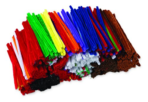 Price comparison product image Creativity Street Jumbo Chenille Stems Classroom Pack,  1, 000-Count,  Assorted Colors (AC9115-01)