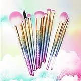 Docolor Makeup Brushes,10Pcs Fantasy Set Foundation Powder Eyeshadow Kits