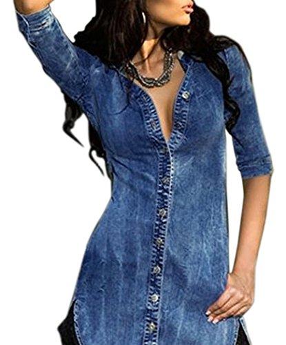 Buy maxi dress and denim shirt - 9