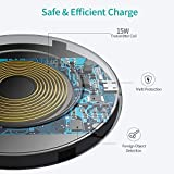 CHOETECH Wireless Charger, 15W Max Fast Wireless