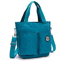 Hynbase Women's Cross Boby Hangbag Casual Waterproof Nylon Hobos Shoulder Bag