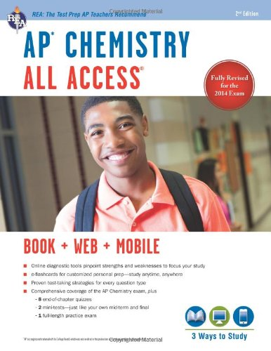 AP® Chemistry All Access Book + Online + Mobile (Advanced Placement (AP) All Access)