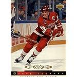 abb0ba120 1993 Upper Deck Hockey Card (1993-94)  227 Steve Yzerman Near Mint Mint