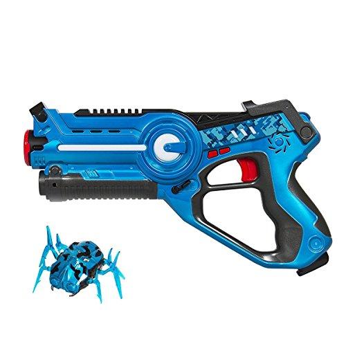 EXSPORT Blaster Gun Kids Game Laser Gun and Robert Nano Bug Striker